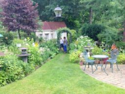 Garden Social, Host Salve Desprez, July 2016